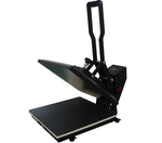 Clamshell Heat Press Machine 38x38cm for vinyl t shirt transfer & sublimation ink