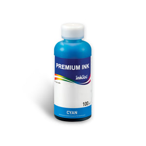 Refill Ink Bottle for HP 02 Cyan Dye - InkTec Australia