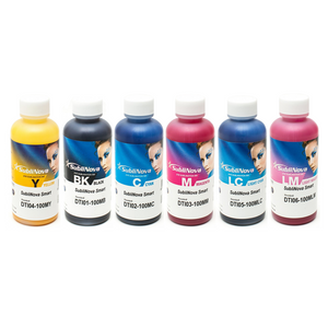Dye Sublimation Ink SubliNova Smart for Epson Printers 6 Colours Pack - InkTec Australia
