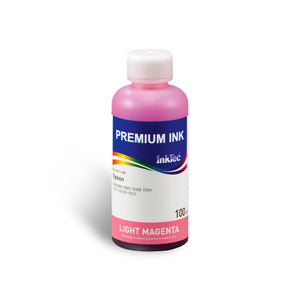 Refill Ink Bottle for Epson T0491 & T0496 Light Magenta Dye - InkTec Australia