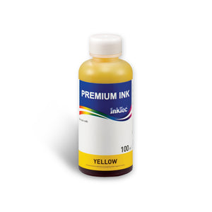 Refill Ink Bottle for HP 02 Yellow Dye 100ml - InkTec Australia
