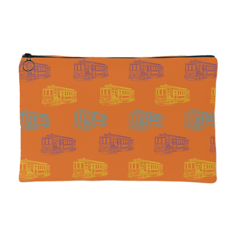 Cable Car Pouch Orange