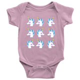 Unicorn Parade Baby Bodysuit