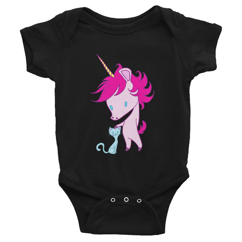 Unicorn and Kitty Infant Bodysuit