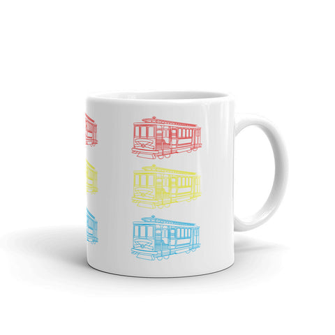 Trolley Trio Mug