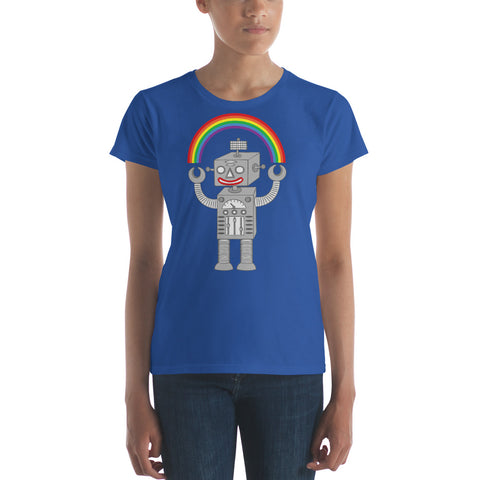 Rainbow Robot Women's Tee