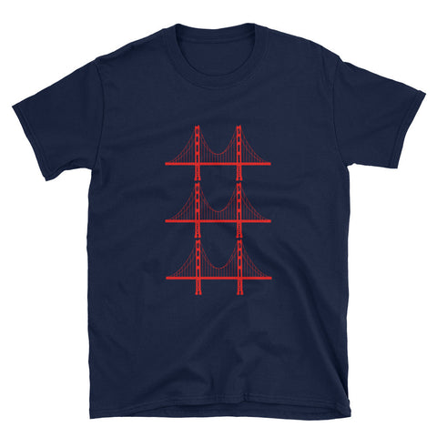 Golden Gate Bridge Trio T-Shirt