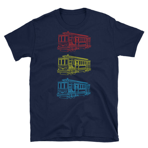 Trolley Trio Men's T-Shirt
