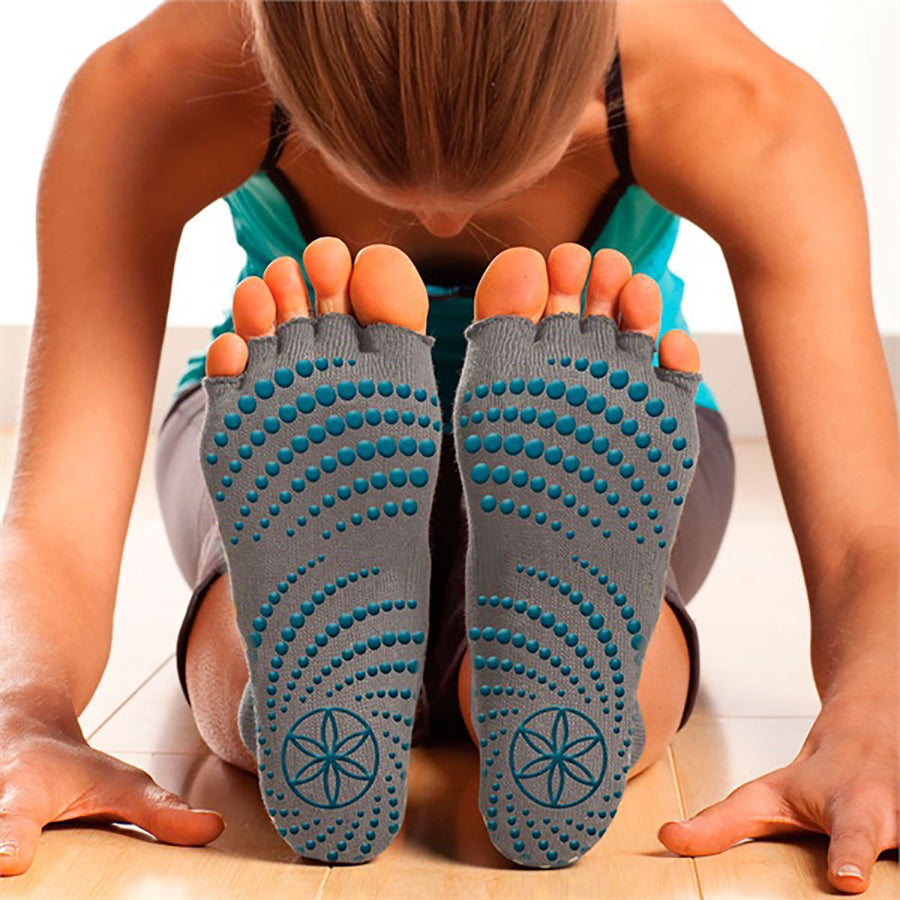 GAIAM - TOELESS YOGA SOCKS