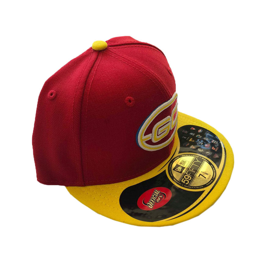 NEW ERA - GOLD COAST SUNS 5950 2 TONE FITTED CAP