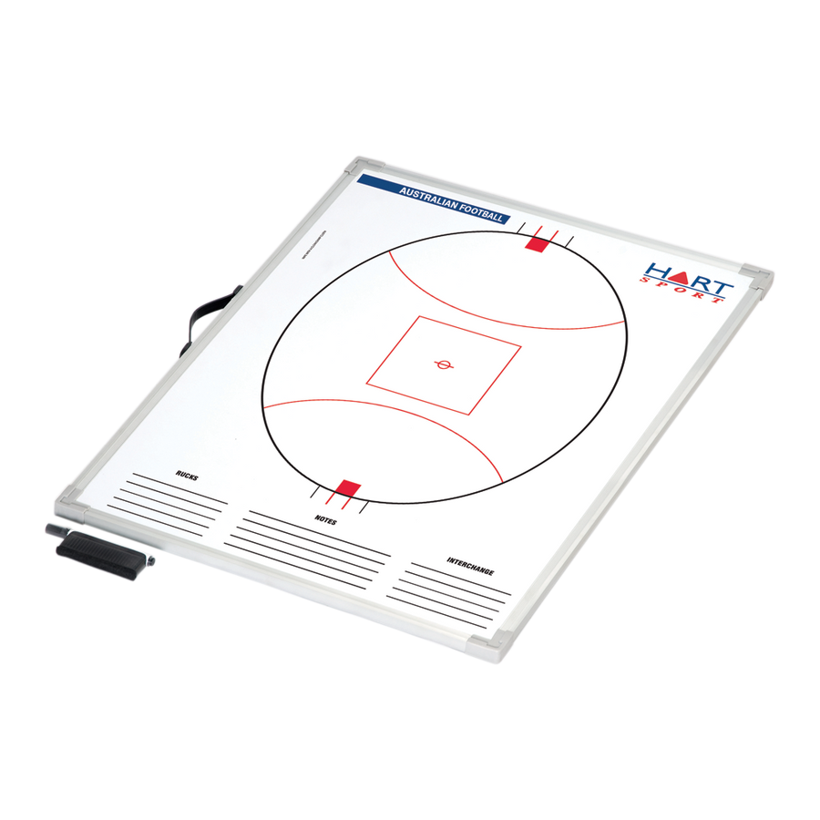 HART SPORT - MAGNETIC COACHING BOARD (AFL, SOCCER, NETBALL)