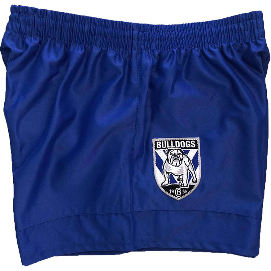 ISC - CANTERBURY BULLDOGS NRL SUPPORTER SHORTS