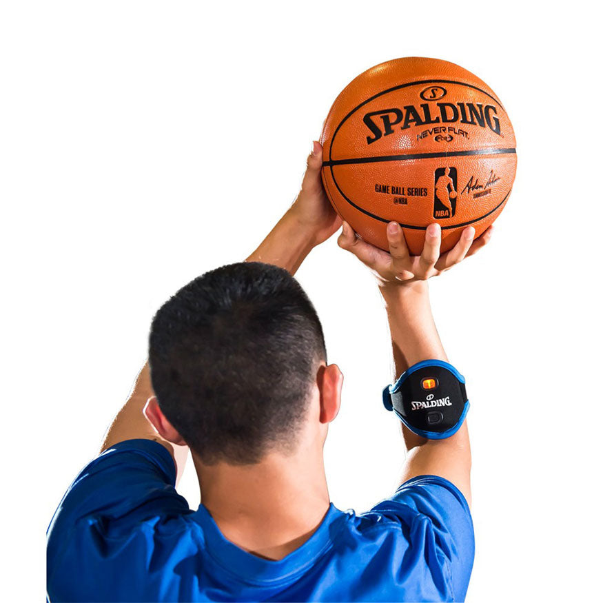 SPALDING - BASKETBALL COACHING AIDS (SMART SHOT, SHOOTING SPOTS, DRIBBLE GOGGLES, HANDLE SLEEVES, JUMP STRENGTH)