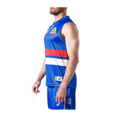 ASICS - 2017 WESTERN BULLDOGS HOME JERSEY