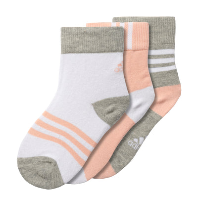ADIDAS - INFANT ANKLE SOCK (3 PAIRS)