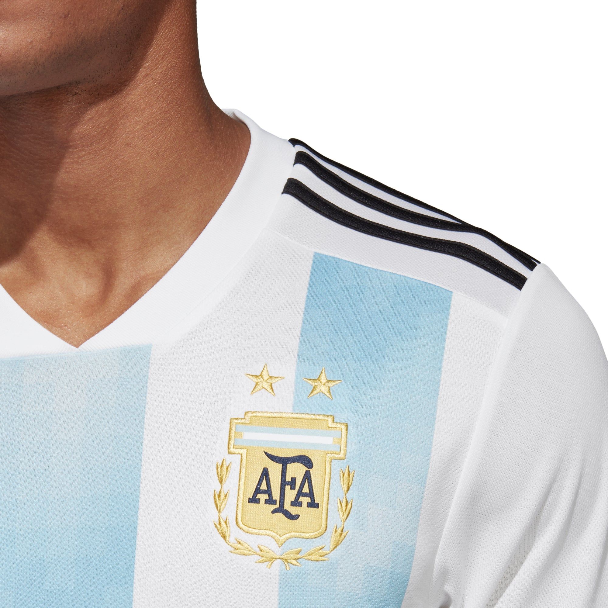 Adidas World Cup 2018 Home Jersey Argentina Germany Spain Fashion Big Size T Shirt 2xl