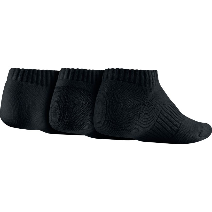 NIKE - COTTON NO-SHOW SOCKS - 3 PAIR