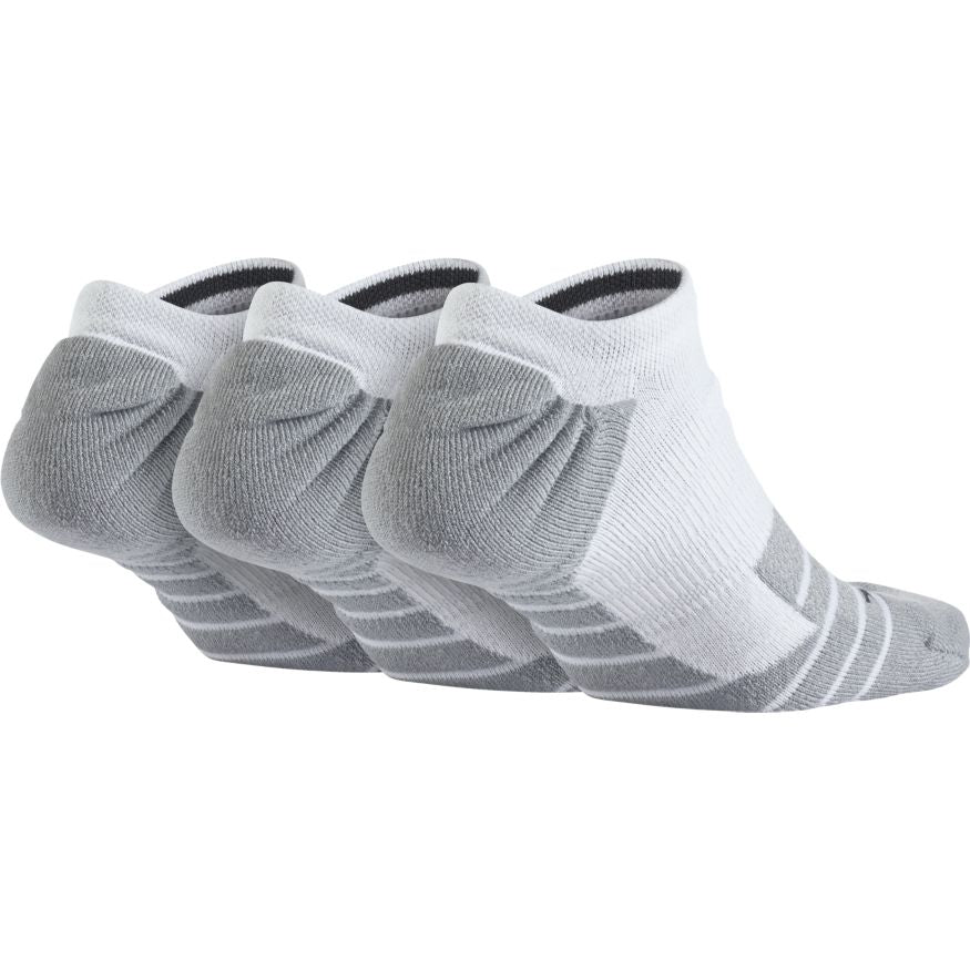 NIKE - MAX CUSHION NO SHOW TRAINING SOCK - 3 PAIR