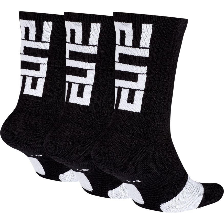 NIKE - DRI-FIT ELITE CREW BASKETBALL SOCKS (3 PAIR)