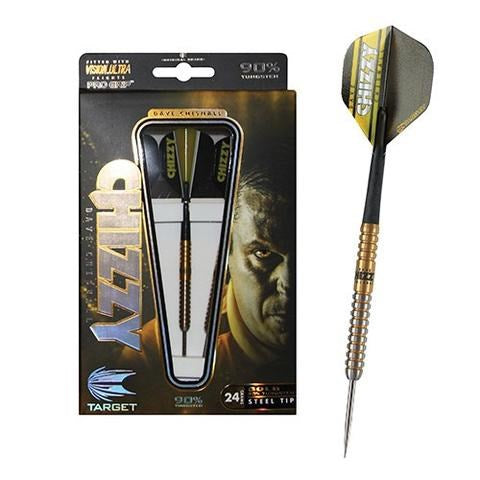 TARGET DARTS - TUNGSTEN PLAYER SERIES - CHIZZY GOLD