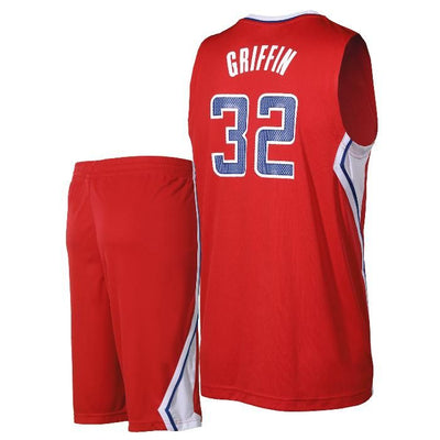 ADIDAS - BASKETBALL JERSEY & SHORT SET - BLAKE GRIFFIN - LA CLIPPERS