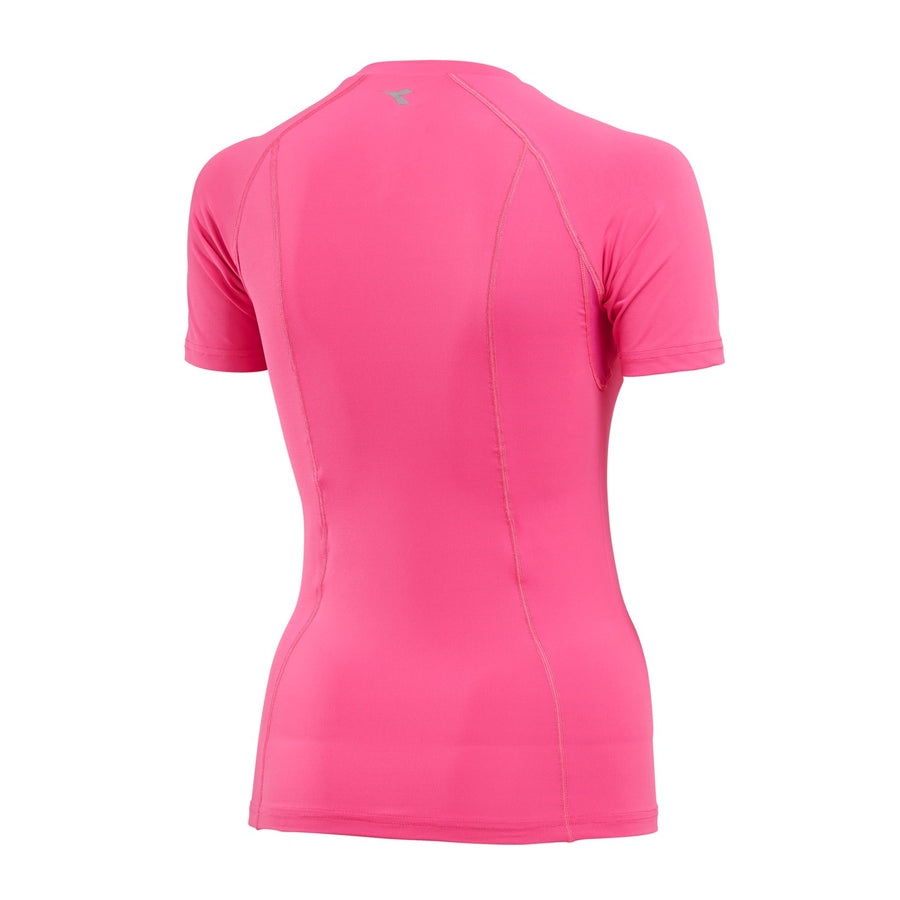 DIADORA - WOMENS COMPRESSION SHORT SLEEVE TEE