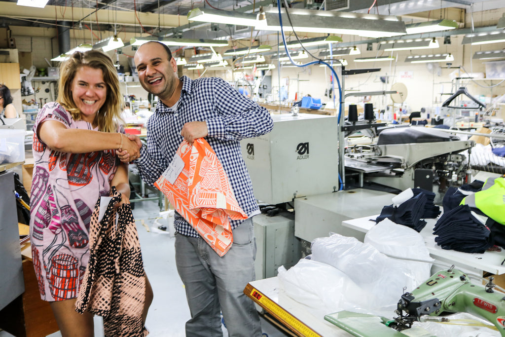 from Bali to Bankstown - Magpie Goose manufacturing