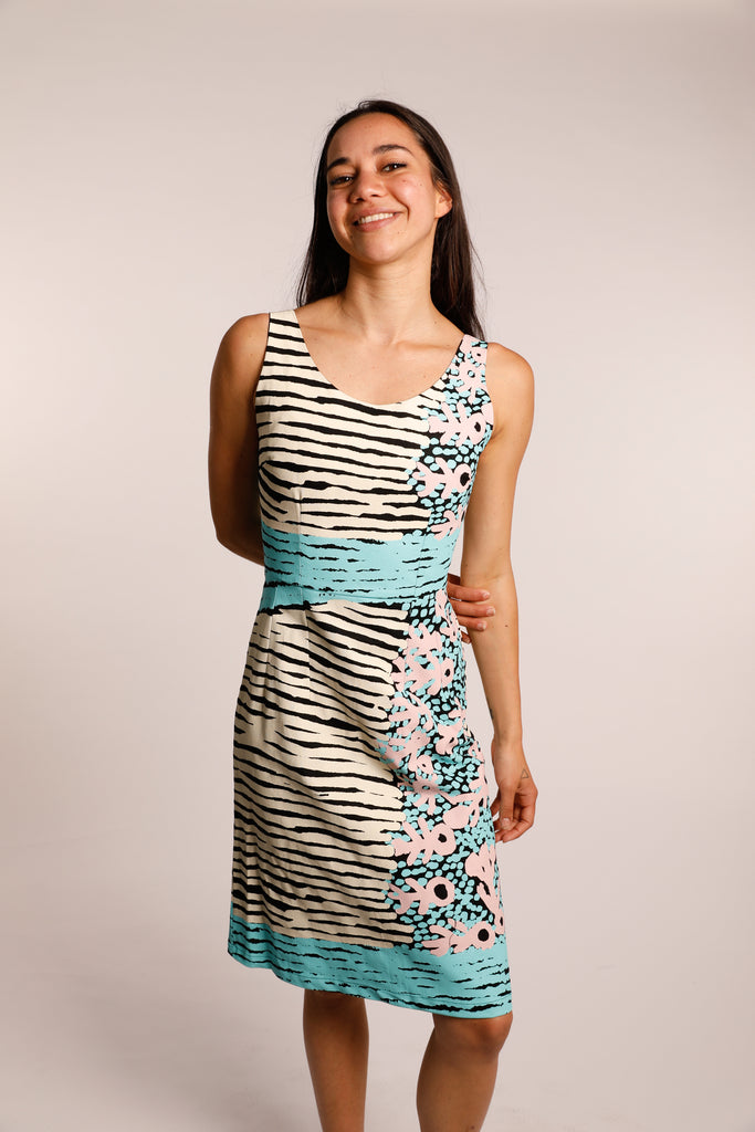Classic fitted dress - Kuruyultu (three colours)
