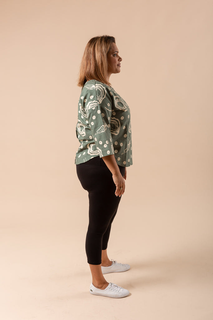 Reversible top - Marlingu (Oysters)