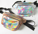 Reflective Laser Fanny Pack Metallic Waist Bag - 5 Colors