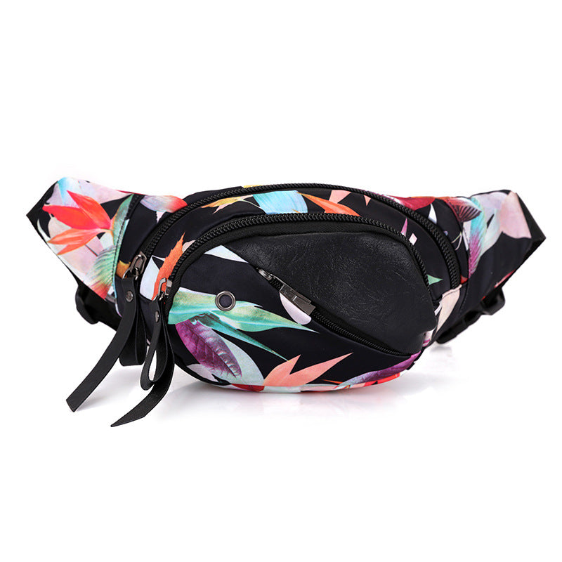 Graphic Design Fanny Pack Geometric Print Waist Bag - 4 Designs