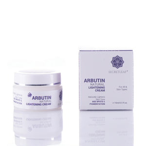 Arbutin Natural Lightening Cream - Secretleaf Skin Beauty