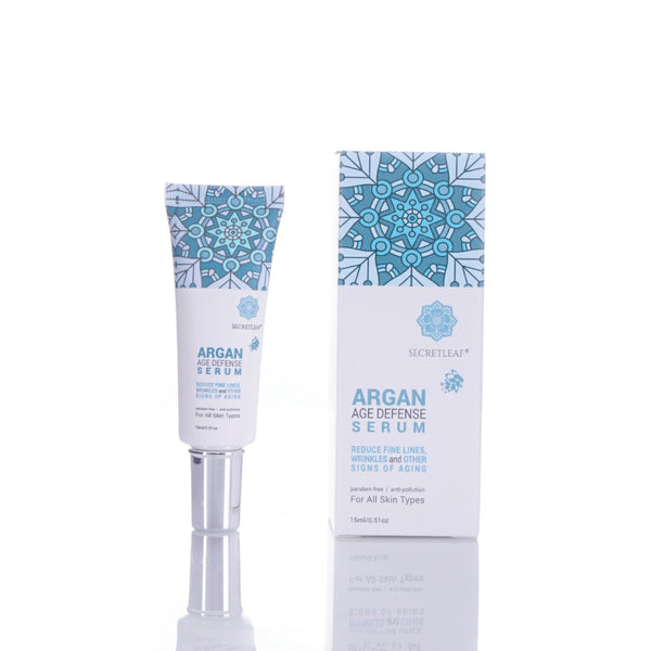 Secretleaf Argan Age Defense Serum 15ml - Secretleaf Skin Beauty