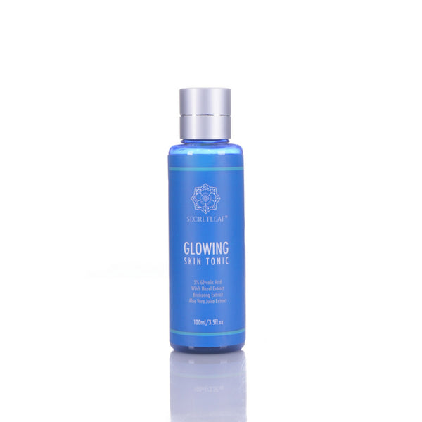 Secretleaf Glowing Skin Tonic Exfoliator 100ml - Secretleaf Skin Beauty