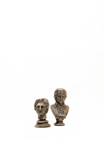 Set of 2 Bust Ornaments