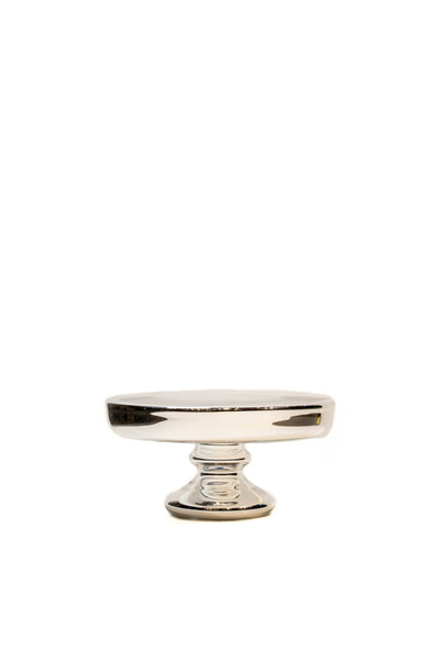 Silver Fink Cake Stand