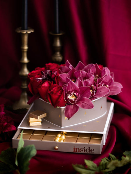 Love Chocolate & Flowers