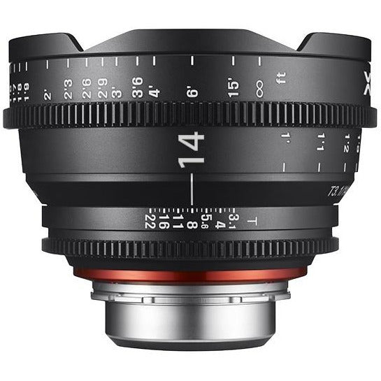ROKINON XEEN PROFESSIONAL CINE LENS FULL FRAME 14MM T3.1 - 3 YEAR WARRANTY