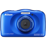 Blue Colour Nikon W150 Waterproof Compact Digital Camera