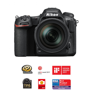 Nikon D500 DSLR Camera + AF-S DX 16-80 mm VR F/2.8-4E ED Lens