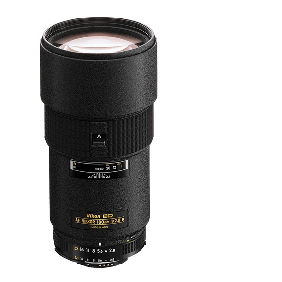 Nikon AF 180 mm f2.8D IF ED Telephoto Lens