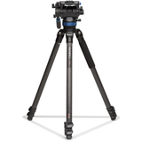 Benro C373FBS8 Carbon Fibre Video Tripod & S8 Head, 8 kg Load