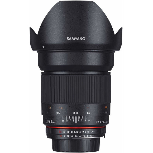 Samyang 24 mm f1.4 UMC II Manual Focus Lens