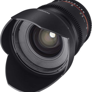 Samyang 16 mm T2.2 VDSLR UMC II Video Lens - APS-C