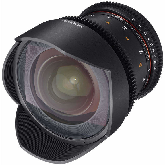 Samyang 14 mm T3.1 VDSLR UMC II Video Lens - Full Frame