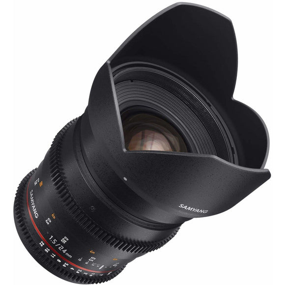 Samyang 24 mm T1.5 VDSLR UMC II Video Lens - Full Frame