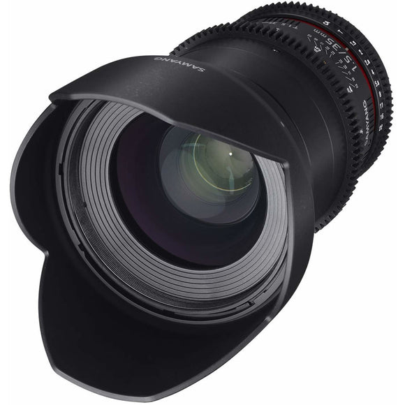 Samyang 35 mm T1.5 VDSLR UMC II Video Lens - Full Frame
