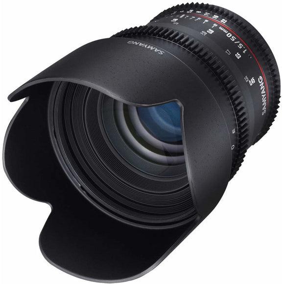 Samyang 50 mm T1.5 VDSLR UMC II Video Lens - Full Frame