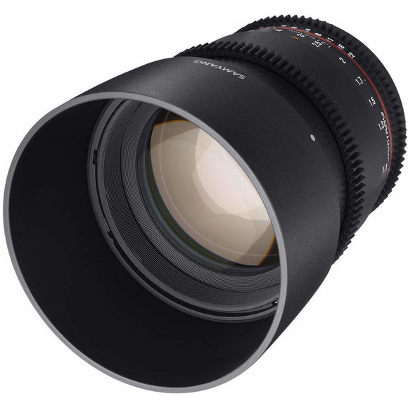 Samyang 85 mm T1.5 VDSLR UMC II Video Lens - Full Frame