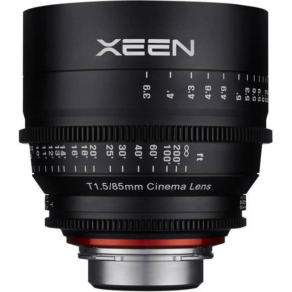 ROKINON XEEN PROFESSIONAL CINE LENS FULL FRAME 85 MM T1.5 - 3 YEAR WARRANTY